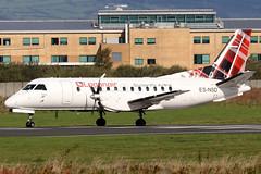 ES-NSD_08 (GH@BHD) Tags: esnsd saab saab340 lc lm log loganair nyxair bhd egac belfastcityairport aircraft aviation airliner propliner turboprop