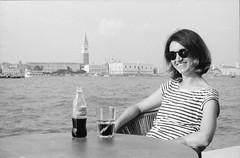 A Coke in Venice (Marco Butera) Tags: venice coke coca cola venezia portait landscape san marco square water sea ilfordhp5 olympusom10
