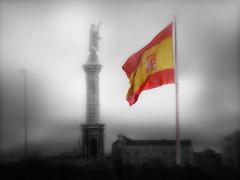 12 Octubre. Fiesta Nacional de España (Manuel Peña Jiménez) Tags: 12deoctubre fiestanacionaldeespaña díadelahispanidad plazadecolón madrid banderadeespaña monumentoacristóbalcolón spanishflag thegalaxy