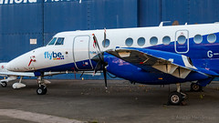 G-MAJZ (Al Henderson) Tags: 41 airfield aviation bae bedfordshire cranfield egtc eze easternairways flybe gmajz jetstream planes university