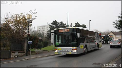 Setra S 415 NF – Stivo (Société de Transport Interurbaine du Val d'Oise) / STIF (Syndicat des Transports d'Île-de-France) n°902