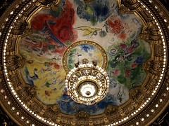 Chagall's ceiling.
