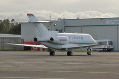 Ambrion Aviation Hawker 800 N125XP (Rob390029) Tags: ambrion aviation hawker 800 n125xp newcastle airport ncl egnt