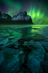 Affirmation (williampatino) Tags: iceland nature landscape vestrahorn aurora long exposure night stars astro meteor ice winter william patino mountains