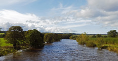 Photo of River Eden at Langwathby.