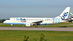 G-FBJK (AnDyMHoLdEn) Tags: flybe embraer egcc airport manchester manchesterairport 23l