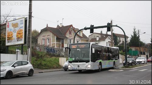 Mercedes-Benz Citaro C2 – Hourtoule (Groupe Lacroix) / STIF (Syndicat des Transports d'Île-de-France) / Plaine de Versailles n°H301