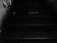 Stairs. (mitsushiro-nakagawa) Tags: 新宿 manhattan usa london uk paris アンチノック milan italy lumix g3 fujifilm mothinlilac mil gfx50r bw mono chiba japan exhibition flickr youpic gallery camera collage subway street novel publishing mitsushiro nakagawa artist ny interview photograph picture how take write display art future designfesta kawamura memorial dic museum fineart