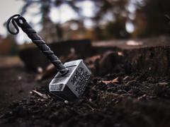 Hammer Thor (Patryk Rejdych) Tags: polska poland sonyrx100 sony outside park nature forest hammer thor marvel bokeh cinematic avengers