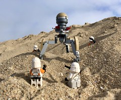 212th Attack Battalion vs Octuptarra Droid