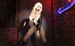 Black Canary (beccaprender) Tags: catwa catya bento maitreya lara session rose twc thewhitecrow wasabi xo superhero blackcanary dccomics cosplay fantasy