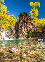 Crystal Mill Cabin Colorado Fall Foliage Fuji GFX 100 Autumn Colors Fine Art Landscape & Nature Photography! Elliot McGucken Fuji GFX100 &  Fujifilm Fujinon GF 32-64mm F/4 R LM WR G Mount Lens!  Master Fine Art Landscape Photography! (45SURF Hero's Odyssey Mythology Landscapes & Godde) Tags: colorado fall foliage fuji gfx 100 autumn colors fine art landscape nature photography elliot mcgucken gfx100 master crystal mill fujifilm fujinon gf 3264mm f4 r lm wr g mount lens cabins stilt stilts cabin
