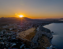 The city of Sudak in Crimea, Russia. (alexinspire2) Tags: судак крым россия sudak crimea russia sunrise