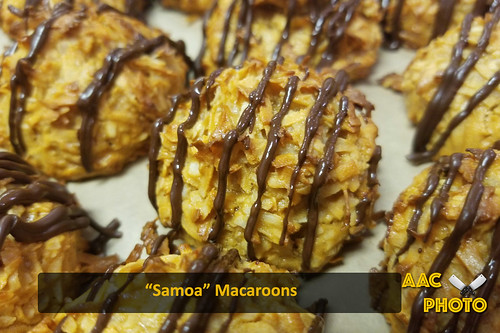 "Samoa macaroons • <a style=""font-size:0.8em;"" href=""http://www.flickr.com/photos/159796538@N03/48882544811/"" target=""_blank"">View on Flickr</a>"