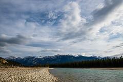 Athabasca River, Alberta, Canada (D85_0660) (swh) Tags: athabasca canada cloud mountain river sky trees jasper alberta