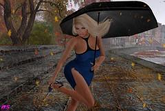 Rainy Afternoon (alexandra sunny) Tags: avale mosquito´sway jessposes unik catwa maitreya aviglam exile secondlife blog blogger fashion female woman landscape pose sexy rain