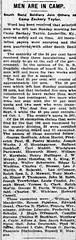 1917 - Walter Schermier sent to war - South Bend Tribune - 24 Oct 1917