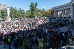 Crowd (Streetsblog Denver) Tags: denver colorado unitedstatesofamerica demonstration gretathunberg havencoleman climatechange climateportest fridaysforfuture stike studentstrike student