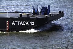 Peace be upon you . . (Eduard van Bergen) Tags: attack peace barge ships boats 42 samsungnx1000 samsung50200edois tele shot platform 02337109 imo vanbergen delft bak