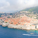 Fog over the Old Town of Dubrovnik, Croatia