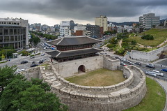 East Gate (TigerPal) Tags: korea southkorea republicofkorea rok eastasia dongdaemun eastgate city historic fortress gate wall defensive