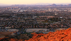 South Mountain: Dobbins Outlook! (rambokemp) Tags: sunset southmountain dobbins outlook city view phoenixarizona sky