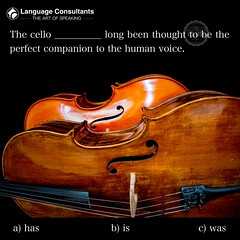 #Language #Consultants play a central role in #BringingTheWorldToYourDoorstep so you can #exchange #ideas, #learn, #think, #create and do #business more easily in #English. #TheArtOfSpeaking #Cello (The English Verb) Tags: language consultants bringingtheworldtoyourdoorstep exchange ideas learn think create business english theartofspeaking cello