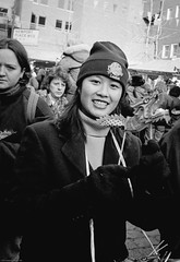 A face in the crowd (gwpics) Tags: female chinatown girl england london fashion people clothes mono chinesenewyear celebrations archive uk streetphotography analog analogue clothing editorial everydaylife film leica lifestyle monochrome person society unitedkingdom blackandwhite streetlife 中國新年