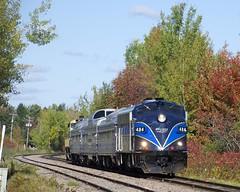 Shanks (Michael Berry Railfan) Tags: oexx484 orfordexpress fl9 emd cmq sherbrooke shanks magog quebec oex train passengertrain