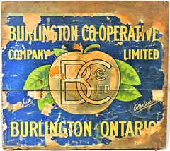 (Will S.) Tags: box crate lid label mypics burlington ontario canada josephbrantmuseum