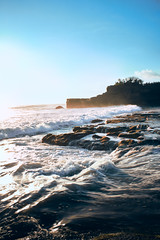 Waves (bdrc) Tags: asdgraphy malaysianphotographer sony sonyalpha sonyalphamy sonyalphauniverse sonyimages sonymalaysia sonyphotography sonyuniverse fullframe mirrorless a7m3 a7iii indonesia travel anniversary asia bali tanahlot pentex asahi takumar smc 28mm f35 manual prime sea seaside seascape water splash landscape nopeople scenery evening sunset ubud wave rock slow shutter speed handheld
