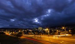 Hobart Tasmania (Steven Penton) Tags: night light trails hobart tasmania australia