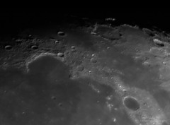 Sinus Iridum and neighborhood. (westcoastcaptures) Tags: sinusiridum luna lunar moon craters monochrome zwo