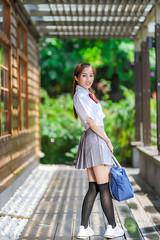 IMG_1264L (攝影玩家-明晏) Tags: 人 人像 戶外 outdoor 美女 辣妹 學生 student portrait tiwan taipei
