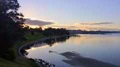800_4350 (Lox Pix) Tags: sunset lighthouse birds landscape scenery waves australia victoria kangaroo mallacoota caravanpark loxpix loxwerx l0xpix ocean clouds reflections loxpixmallacoota