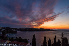 Cavtat Sunset (PapaPiper) Tags: sunset cavtat croatia adriaticcoast clouds sea seascape port spectacular dusk coast