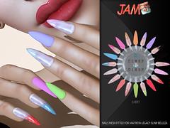 JAM Nails Sabry adv (Trudina Foxtrot ( Manager E-Clipse Design-) Tags: mesh meshbodyaddict ebento belleza maitreya slink jam fitted nails nailart