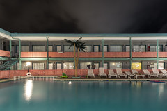 Lu Fran Motel. (explored) (stevenbley) Tags: wildwood wildwoodcrest northwildwood nj newjersey beach endofseason hotel motel january shore jerseyshore midcentury boardwalk