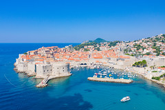 Old Port Dubrovnik in Croatia