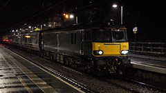 Late to the Opening Night Party (TimboM) Tags: gbrf gbrailfreight wcml hartford hartfordstation highlander class92 brush brushtraction dyson midnightteal serco caledoniansleeper sleeper sleepertrain beds 1m16 92033 berlioz