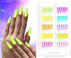ACCESS | October 12th (Kah Melody | ASCENDANT) Tags: ascendant bento nails maitreya belleza slink legacy neon