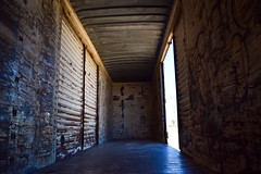 Boxcar Heaven (Toasto) Tags: boxcar trainhopping freighttrain train metal walls shippingcontainer traveling livefree cross trainriding