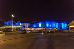 Aquarium of the Pacific at Night (SCSQ4) Tags: aquarium aquariumofthepacific blue building california favorite favoritepicture lights longbeach night nightphotography photographersnight photographersnight2019 remodel tuttlecameras
