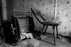 inside the cherry room (A.K. 90) Tags: blackandwhite schwarzweis indoor urbex urbexgermany abandoned old lostplace alt verlassen sonyalpha6300 sanatorium exploring e18135mm3556oss
