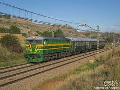 ALCO day II (Jorge H.G. fotografía) Tags: locomotive locomotora train tren historico paisaje alco felipeii aragón coches canon