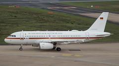 GAF German Air Force, 15+01, MSN 3897, Airbus A 319-133(CJ),09.10.2019,  CGN-EDDK, Köln-Bonn (henryk.konrad) Tags: gaf germanairforce 1501 msn3897 airbus a319 319133x airbus319cj cgneddk kölnbonn henrykkonrad