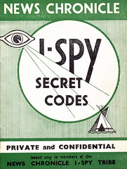IMG_0014 News Chronicle I Spy Tribe Secret Codes Private and Confidential (photographer695) Tags: news chronicle i spy book 6d pence tribe secret codes private confidential