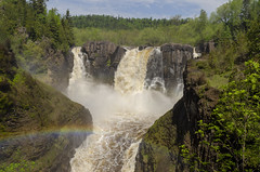 Grand Portage On The Pigeon River III (rschnaible) Tags: minnesota mid west outdoor lake superior circle tour pigeon river water waterfall grand portage landscape