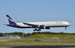 Aeroflot VP-BGB, Boeing 777-3M0/ER at NRT (tokyo70) Tags: japan travel tour aeroflotrussianairlines 777