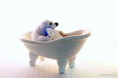 BEAR BATH BOAT || BEER BAD BOOT (Anne-Miek Bibbe) Tags: smileonsaturday happpysmileonsaturday whiteinbacklight bear bath boat beer bad boot wit white blanc weiss bianco blanco branco happyteddybeartuesday speelgoed toy spielzeug giocattoli juguetes bringuedos jouets teddybear beertje teddybeer speelgoedbeer nounours minibeer minibear canoneos70d annemiekbibbe bibbe nederland 2019 tabletopphotography